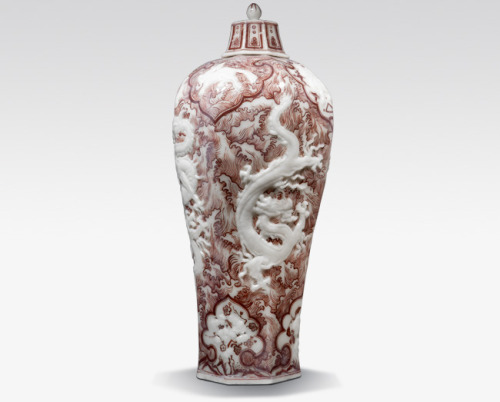 This intricate vase by Korean artist Meekyoung Shin might look like your standard Oriental masterpiece, but visit her work at the Saatchi Gallery and you'll be able to smell the difference. Meekyoung carves her pieces from soap. Yes, SOAP! My mum is a big advocate of posh smellies and my parents' house is stocked full of them, so I'll be taking her to see the exhibit asap. Guarantee it will smell better than this.
