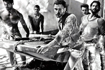 Love this D&G Menswear Ad