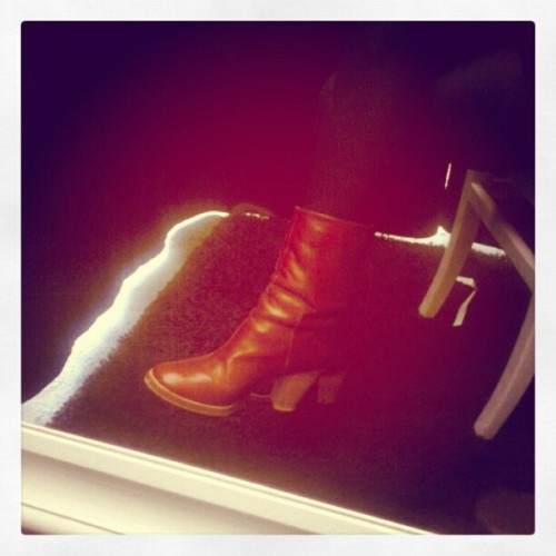 #Nathalie Verlinden #Leatitia boots #okiya.eu #NoSweetHeart (Taken with Instagram at Okiya Antwerp)