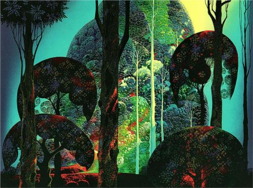 Eyvind Earle Artist and illustrator, known for his concept and background art of Disney animated films in the 1950s