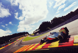 Hitting Eau Rouge