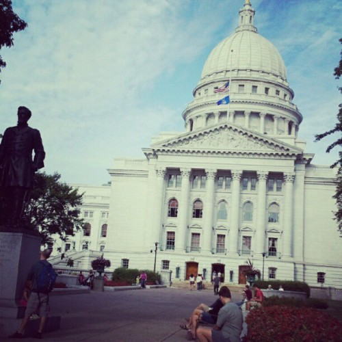 Madison Wi. (Taken with Instagram)