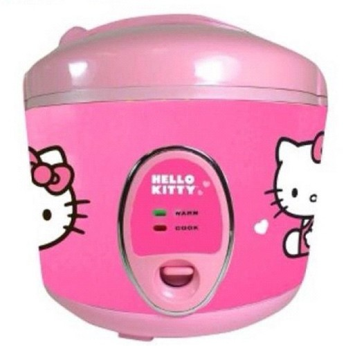 Omg. I want this #hellokitty #ricecooker! #hk #pink #kitchenappliances #wantthis (Taken with Instagram)