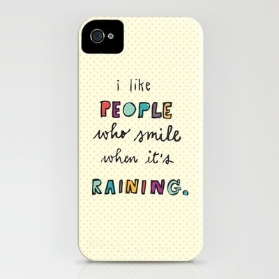cute cases. / when it's raining