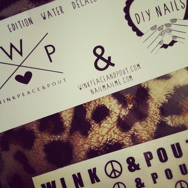 💜 WPP decals over at winkpeaceandpout.com very soon! @badgalmandyh @hollyhmiddouche (Taken with Instagram)