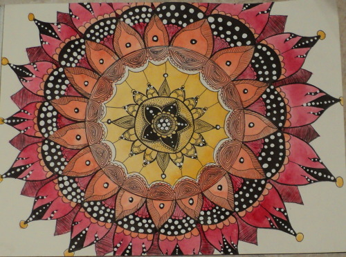 One of my more recent mandalas.