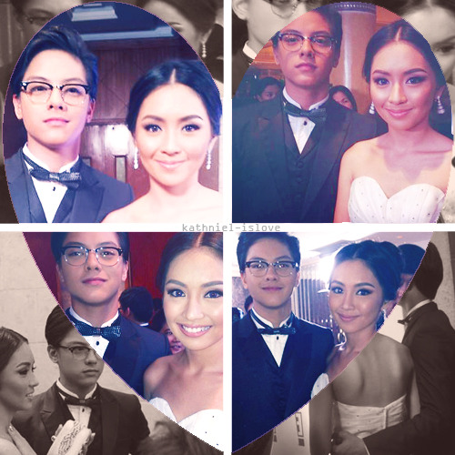Daniel Padilla and Kathryn Bernardo on Star Magic Ball 2012.