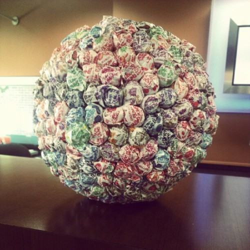 Giant ball of temptation at Chase. Evil evil Chase…  (Taken with Instagram)