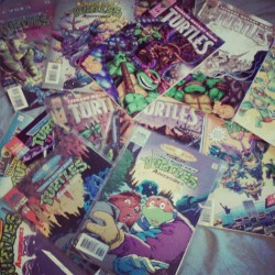 Yup. I own all the ninja turtle comics from the 80's.  (Taken with Instagram)