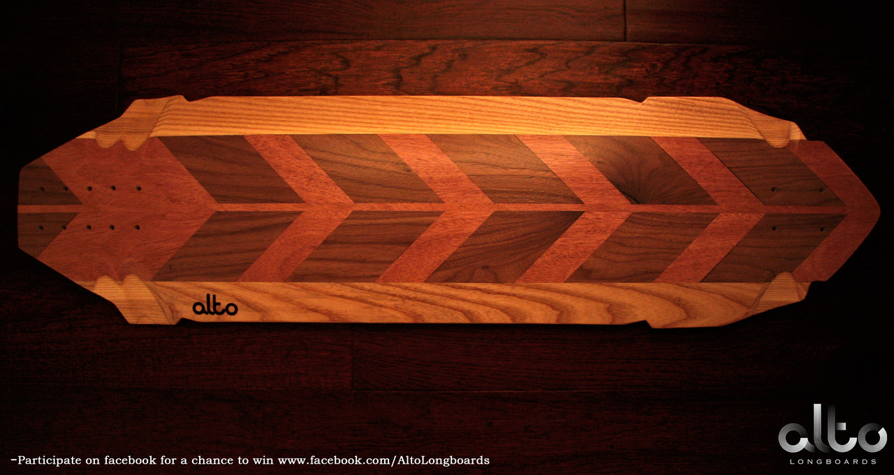 Win this custom longboard, check out our facebook for details.