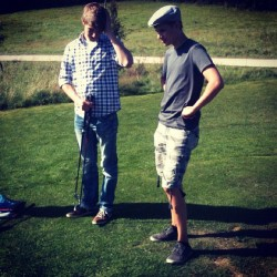 Playing Golf with some friends in summer… (Wurde mit Instagram aufgenommen)
