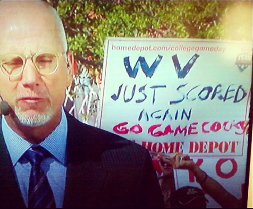 GAMECOCKS representing this AM on GameDay. I love it.