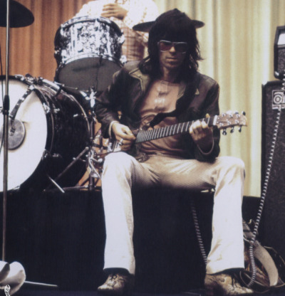 Keith Richards, Denmark, Summer 1970.