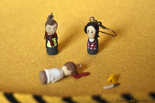 Elementary earrings!