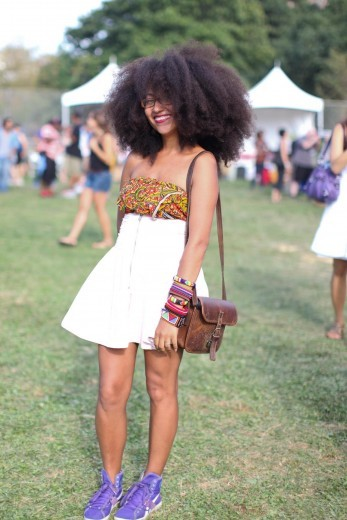 kendaatlarge:  tessa kagbaia via essence mag  Lovely hair!!!! Cant wait till mines looks like this