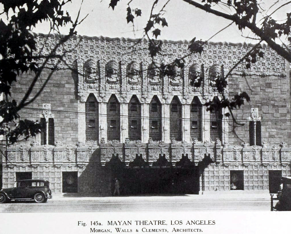 The Mayan Theatre, Los Angeles