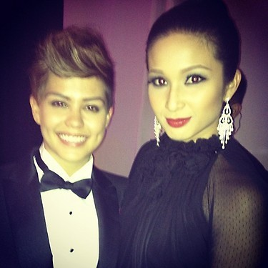 racketinersonline:  DivTin @ Star Magic Ball