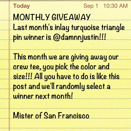 mrsfc:  Congrats to @damnnjustin for winning!!! Email us at www.mrsfc.com (Taken with Instagram)
