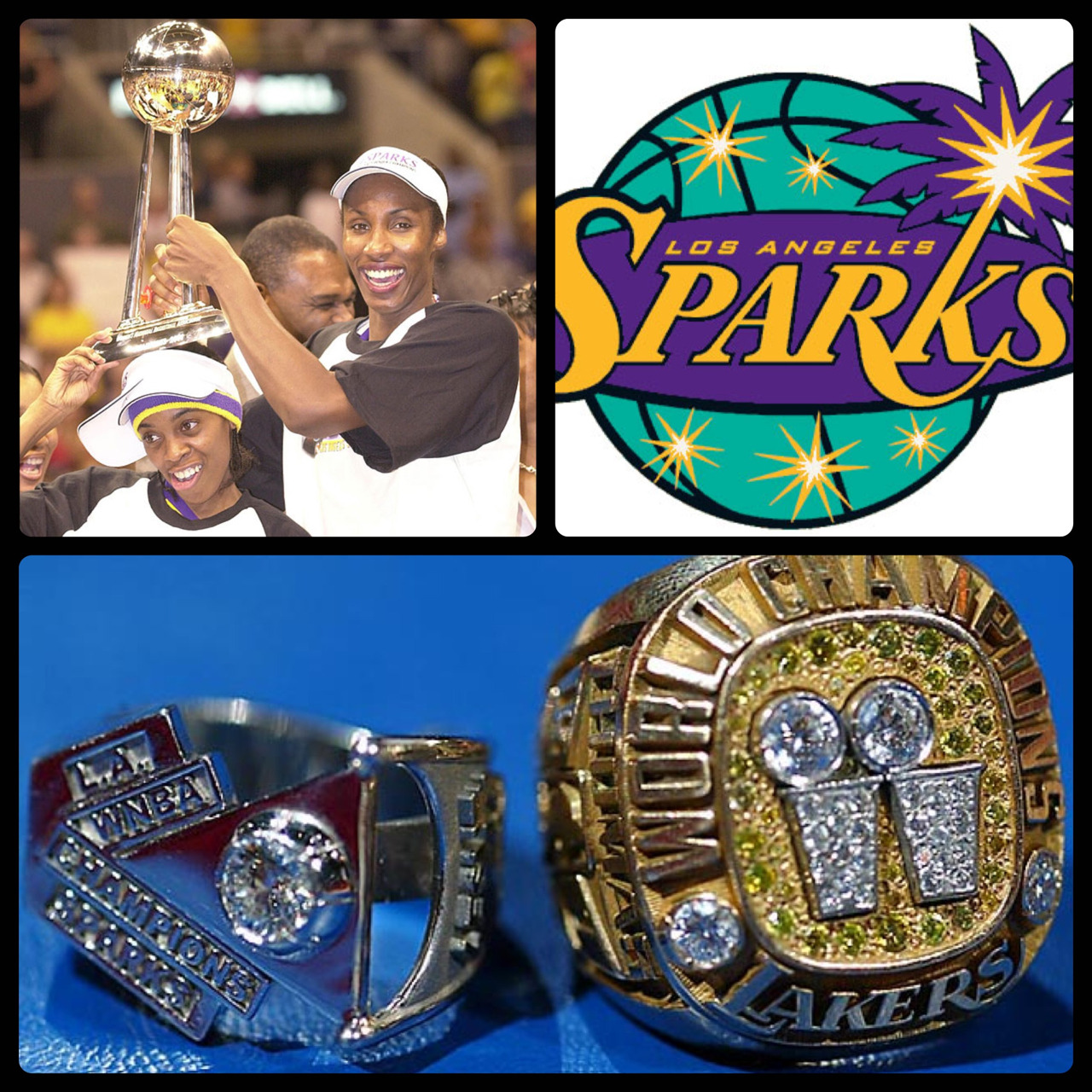 This Day In WNBA History: September 1,2001 - The Los Angeles Sparks claim their first WNBA Championship to give the city of Los Angeles a sweep of professional basketball titles. Lisa Leslie becomes first WNBA player to capture all three MVP awards (All-Star MVP, League MVP, Finals MVP) in the same season, joining NBA greats Shaquille O'Neal, Michael Jordan and Willis Reed as the only pro hoopsters to accomplish that feat. Sparks coach Michael Cooper becomes the first person to claim NBA and WNBA titles, having won five championships as a player with the Lakers.  keepinitrealsports.tumblr.com  pinterest.com/mysterkeepinit  Instagram - @Myster_Keepinit  Twitter - @MysterKeepinit  keepinitrealsports.wordpress.com  flickr.com/keepinit_real_sports