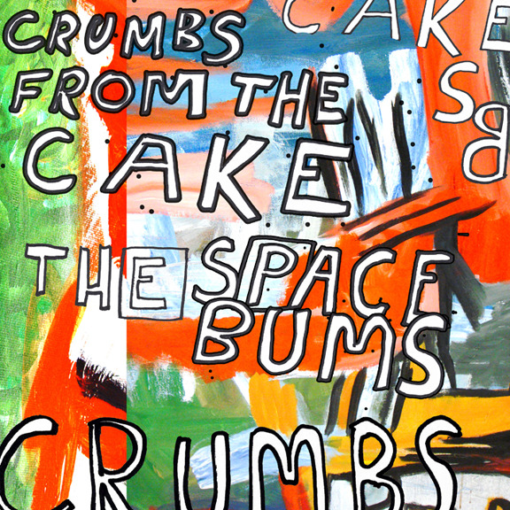 "this is the artwork for our upcoming single ""Crumbs From the Cake""."