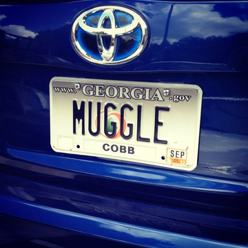 Nerd alert! #muggle #harrypotter #cute  (Taken with Instagram at Bone Garden Cantina)