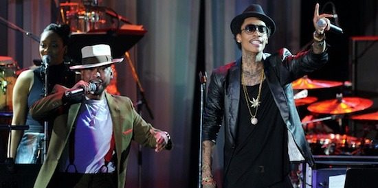 "New Music: Miguel x Wiz Khalifa - Adorn. (Remix) Wiz Khalifa becomes the latest rapper to jump on Miguel's hit single 'Adorn'. Look out for Wiz's ""O.N.I.F.C."" album dropping September 18th and Miguel's ""Kaleidoscope Dream"" album hits stores October 2nd. (Click here to listen & download)"