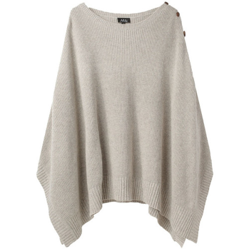 A P C sweater   ❤ liked on Polyvore (see more poncho tops)