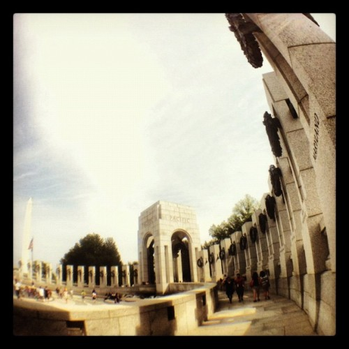 Taken with Instagram at World War II Memorial