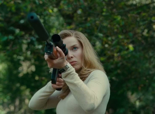 ladiesandrifles:  Thekla Reute. The american (2010)