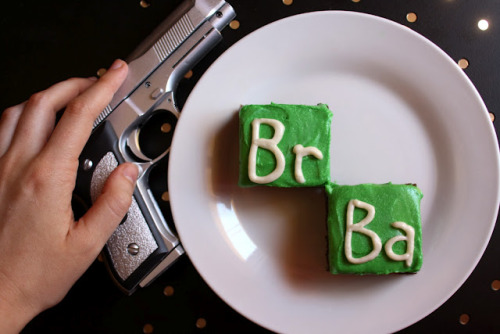 Nice grace-next:  I've been on a tv-inspired baking kick.  Badass Breaking Bad Brownies.