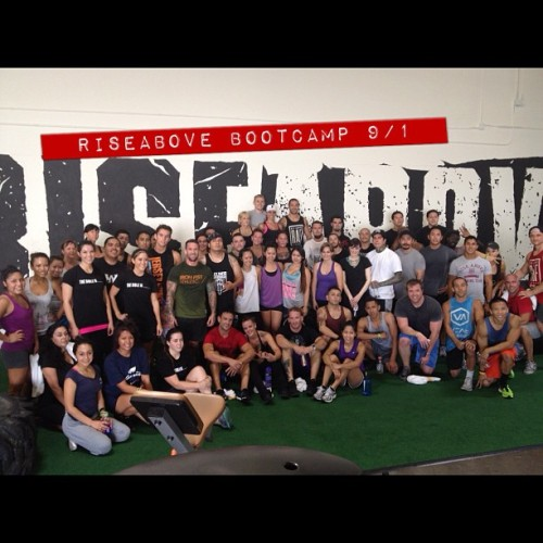 Thanks to those who came and supported the #riseabovefitness Bootcamp today. Great way to kick off september! Thank you @irnfstathletic @musclepharm #nutrishopHBnorth for sponsoring the event. Also @wjramsey @myjourneyinfitness @amirahq @helfette @insta_boyer @wijayr @petitexmonstre @musclesexee for the help today. #igfit #instagood #inspiration #instafitness #igs_tattoed_men #ironfistathletic #instagramfitness #me #muscle #motivation #exercise #fit #fitblr #fitspo #fitness #fitnessgirls #figure #nutrishop #gym #raf #psychosaturday #bootcamp #beardmode  (Taken with Instagram)