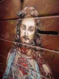 ephremhiphop:  Sacred Heart of Jesus Street Art