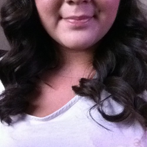 #curls #curly #hair #pretty #love #smile #girl (Taken with Instagram)