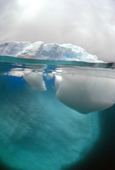 Similar to an iceberg, most of what makes up the being that is me can't be seen on the surface. However underneath, it is epic. It is jagged and yet smooth- ready to roll past obstacles or break through debris. It is strong and determined- following the current.  We are all like icebergs.