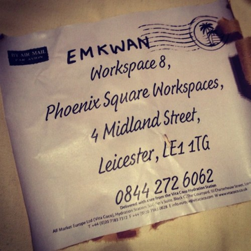 Want to send us stuff. Anything?! Here ya go! #postbox #emkwan #youtube #reviews #gadgets #tech #fan #mail (Taken with Instagram)