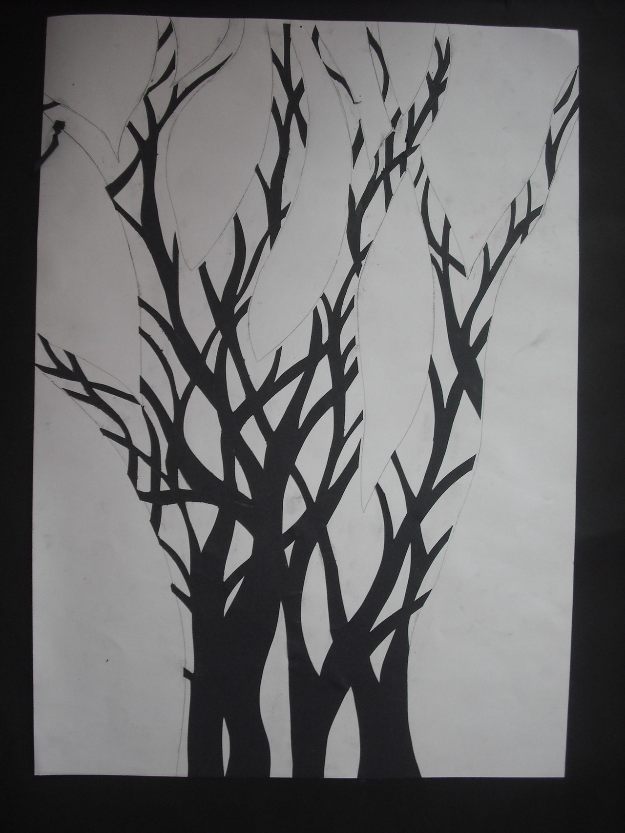 College/2009, Paper cut out, Bethan Meyrick