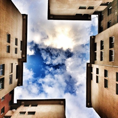 Reflections #sky #asymmetry #building #merida #walking (Taken with Instagram)