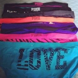 keepcalm-gonefishin:  I love sales❤ #vs #pink #sale #love (Taken with Instagram)