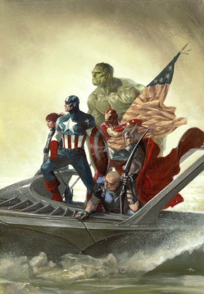 xombiedirge:  Avengers #25 Appreciate Art Variant Cover by Gabriele Dell'Otto