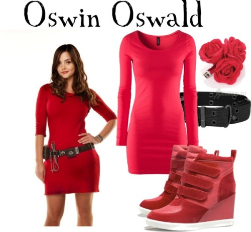 "companionclothes:  Oswin Oswald from ""Asylum of the Daleks""  Pretty close! thx kvothetheraving!"