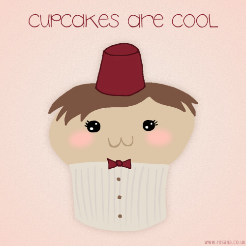 rosiewosie:  Cupcakes are cool.  Awww!