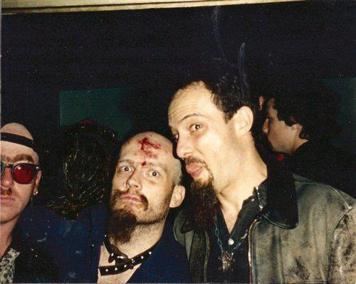hockey-teeth:  GG Allin & Jello Biafra