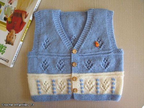 knit vest or waistcoat pattern