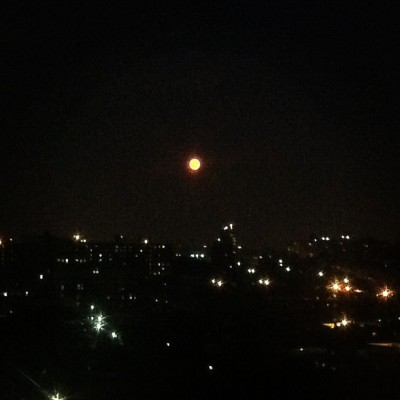 full moon bk (Taken with Instagram)