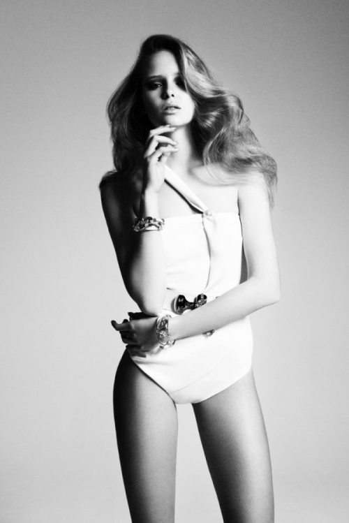 stormtrooperfashion:  Masha Markina By Richard Bernardin For Dress To Kill Magazine | Spring 2012