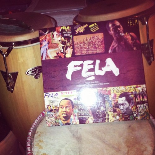 Gotta love culture #afrobeat #music #nigeria #culture #jazz #fela #drums  (Taken with Instagram)