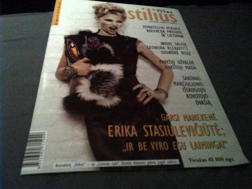 Bernard Chandran featured on the cover of Stilius Magazine. Styled by francescamarottadesigns