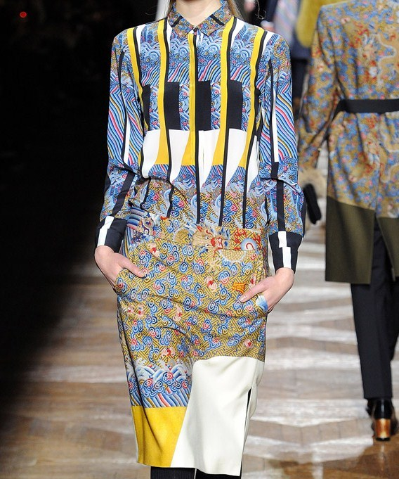Dries Van Noten - fall 2012