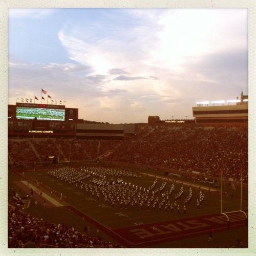 Gotta love the Marching Chiefs! #GoNoles James M Lens, Ina's 1982 Film, No Flash, Taken with Hipstamatic