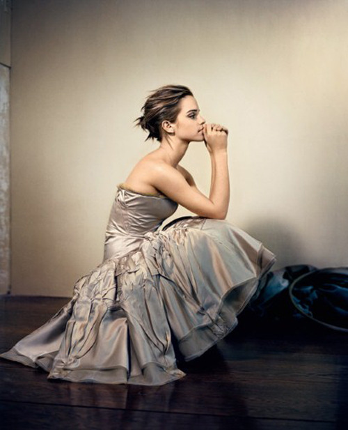 suicideblonde:  Emma Watson photographed by Vincent Peters for Glamour UK, October 2012